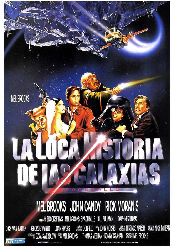 La loca historia de las galaxias poster