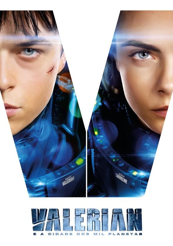 Valerian e a Cidade dos Mil Planetas poster