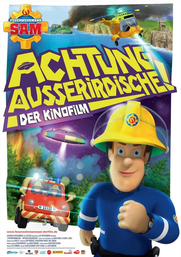 Feuerwehrmann Sam - Achtung Außerirdische! poster