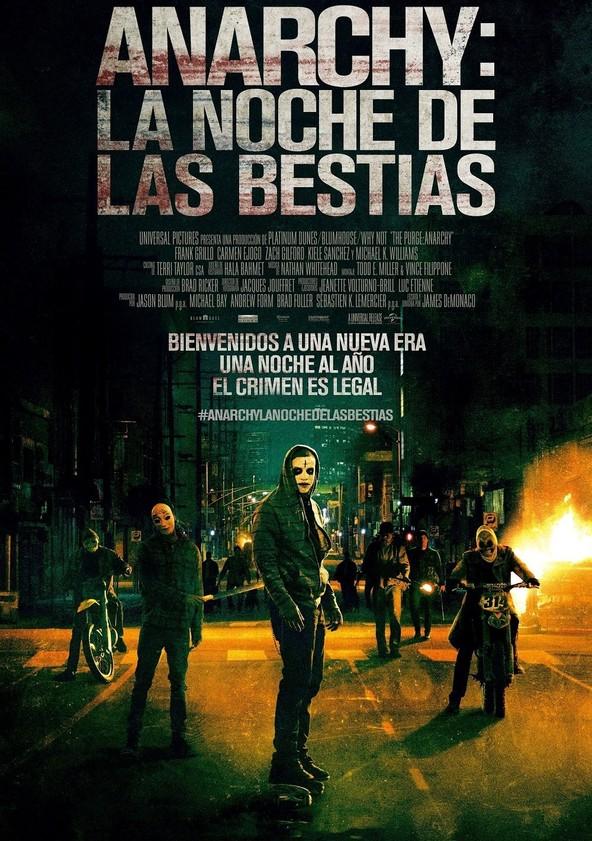 Anarchy: La noche de las bestias poster