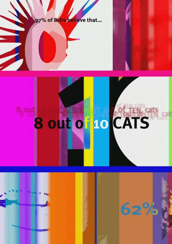 8 out of 10 Cats poster