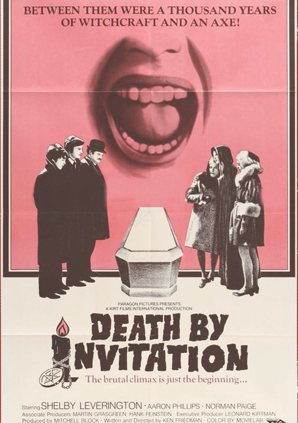 death by invitation streaming where to watch online