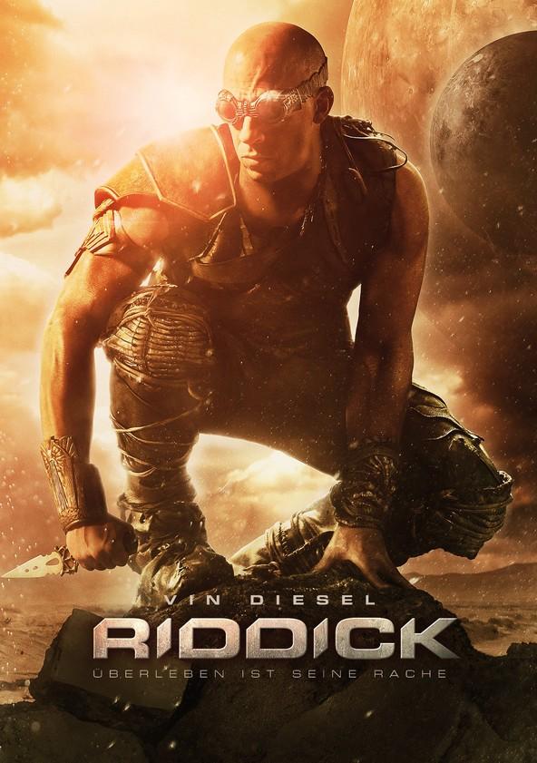 Riddick - Überleben ist seine Rache poster