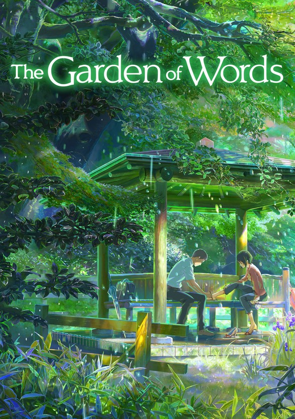 the garden of words movie watch stream online