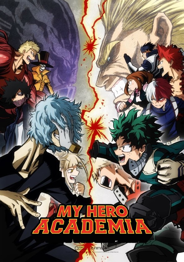 My Hero Academia Season 3 poster