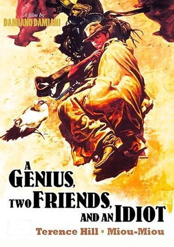 A Genius, Two Friends, and an Idiot poster