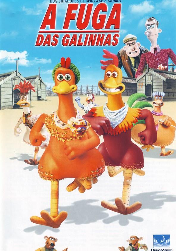 Resultado de imagem para a fuga das galinhas filme