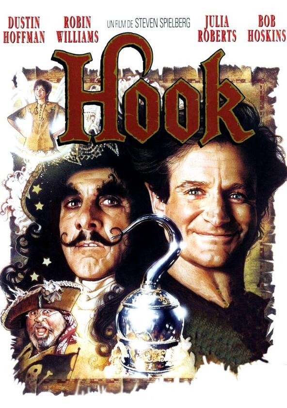 Hook (El capitán Garfio) poster