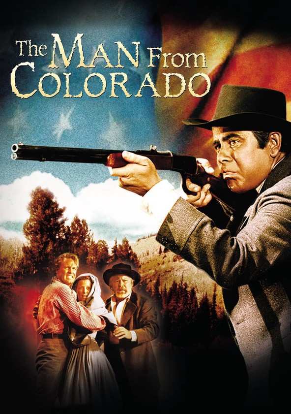 The Man from Colorado poster