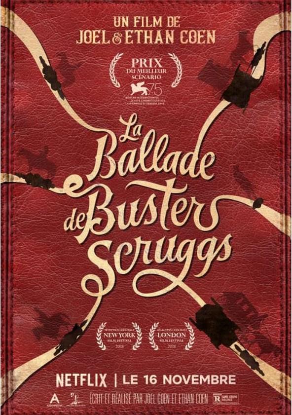 La Ballade de Buster Scruggs poster