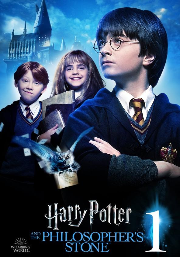 Harry Potter ja viisasten kivi poster