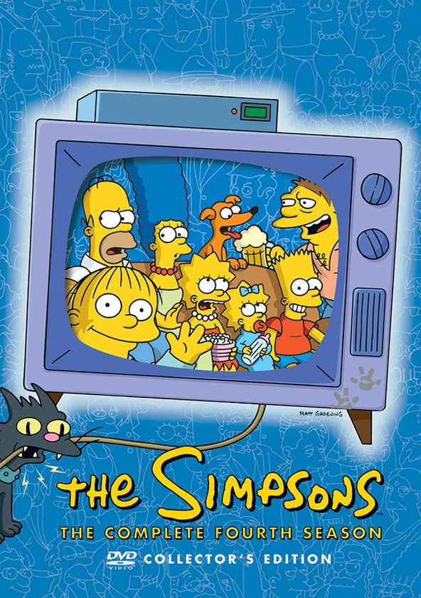 The Simpsons Season 4 poster