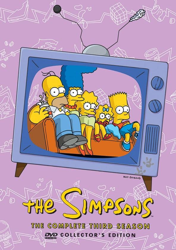 The Simpsons Season 3 poster