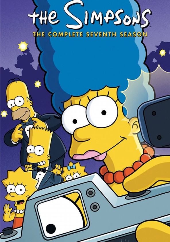 The Simpsons Season 7 poster