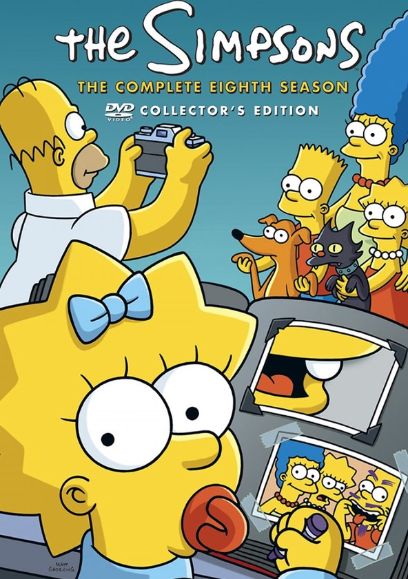 The Simpsons Season 8 poster