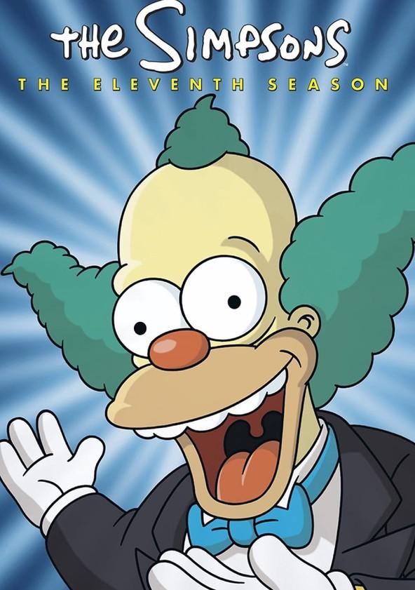 The Simpsons Season 11 poster
