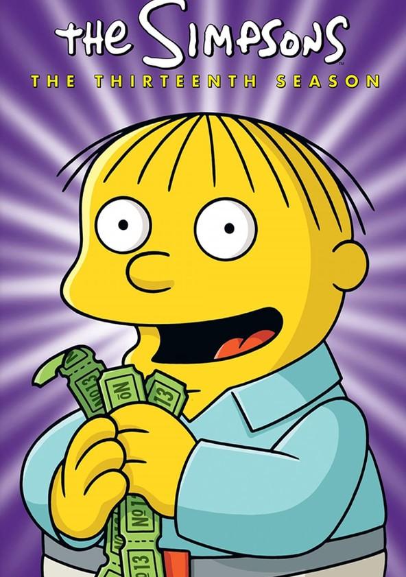 The Simpsons Season 13 poster