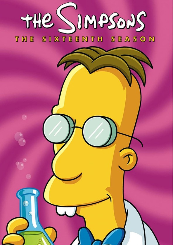 The Simpsons Season 16 poster