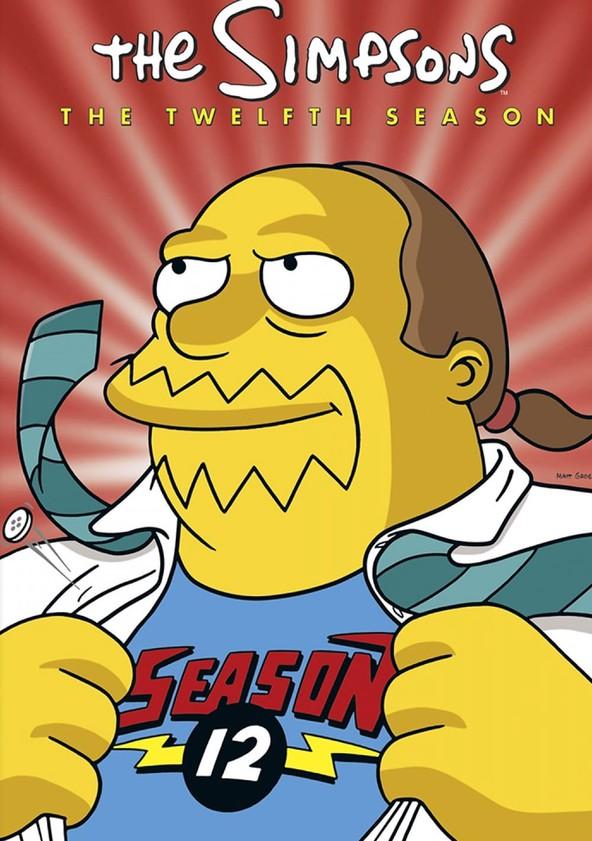 The Simpsons Season 12 poster