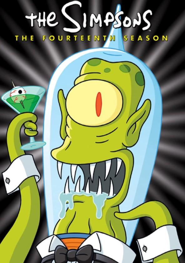 The Simpsons Season 14 poster