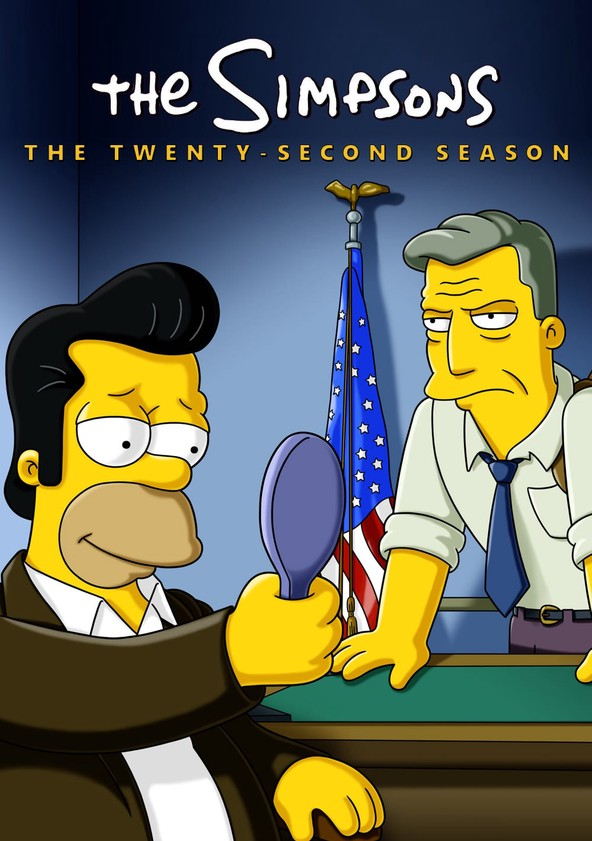 The Simpsons Season 22 poster