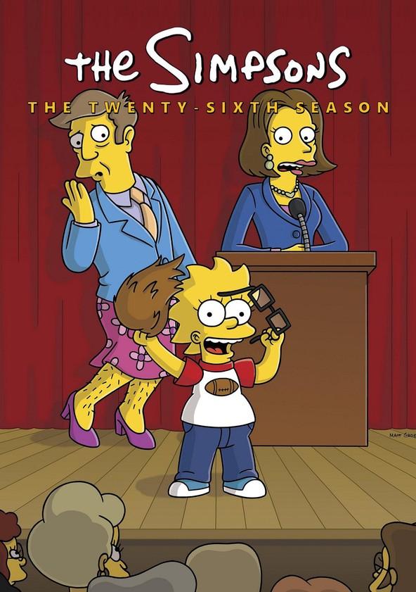 The Simpsons Season 26 poster