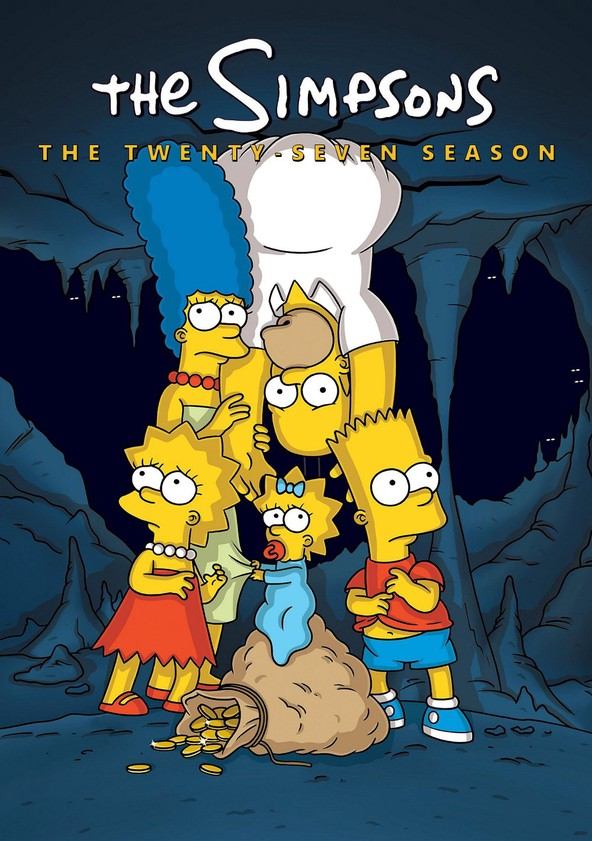 The Simpsons Season 27 poster