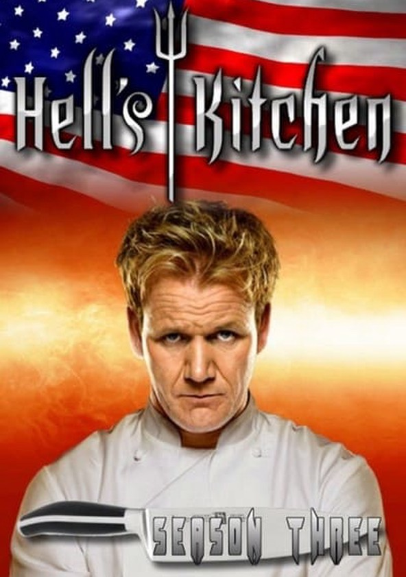 hells kitchen season 3 poster - Hells Kitchen Season 3