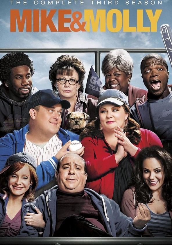 Mike & Molly Season 3 poster