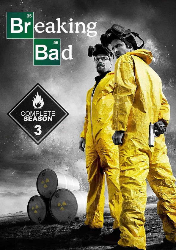 Breaking Bad Season 3 poster