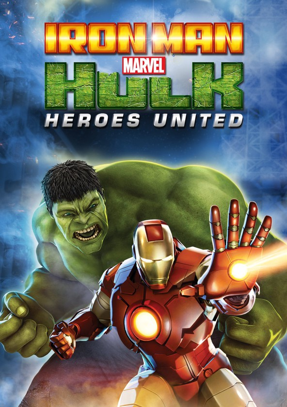 Iron Man & Hulk: Heroes United poster