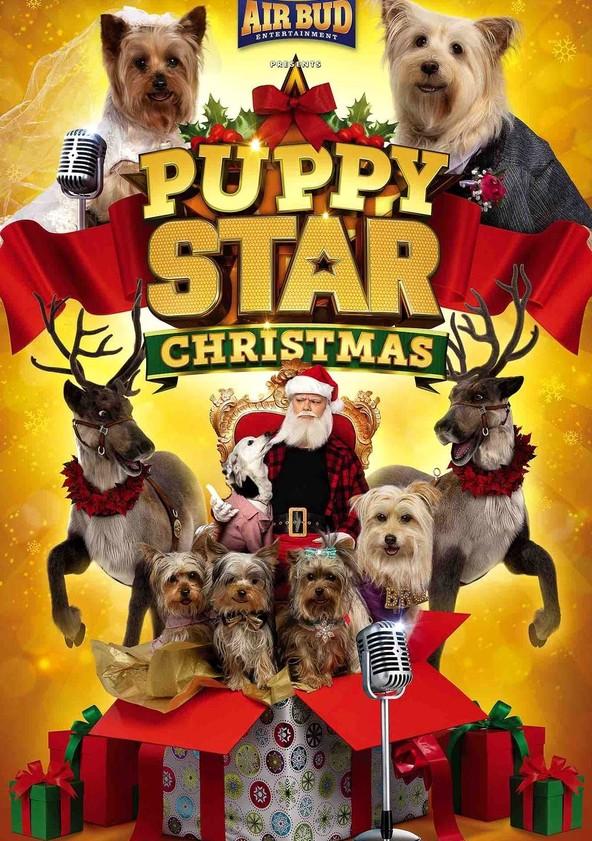 Wuff Star Weihnachten poster