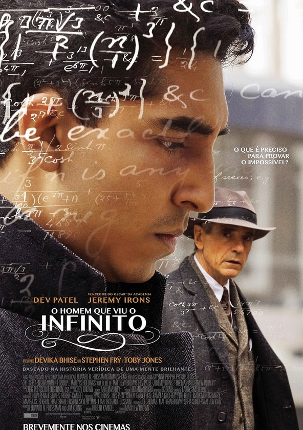 O Homem Que Viu o Infinito poster