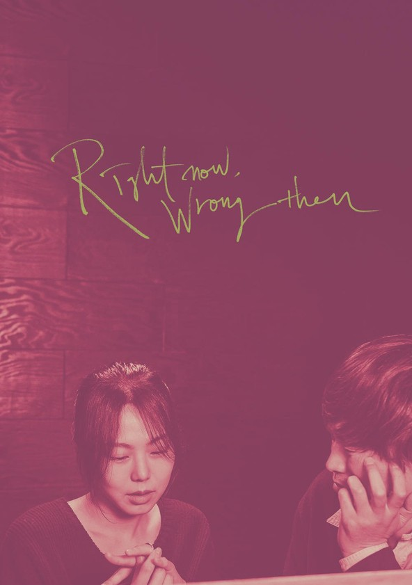 Right Now, Wrong Then poster