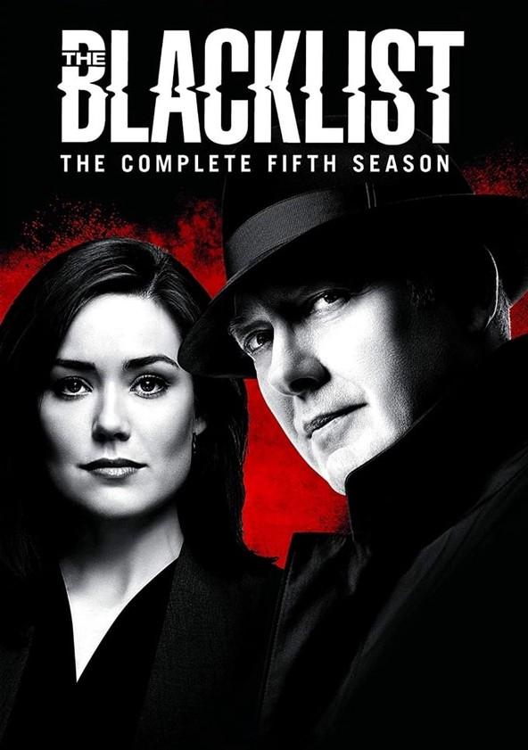 The Blacklist Season 5 poster