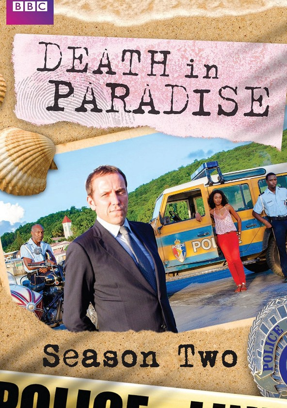 Crimen en el paraíso Temporada 2 poster
