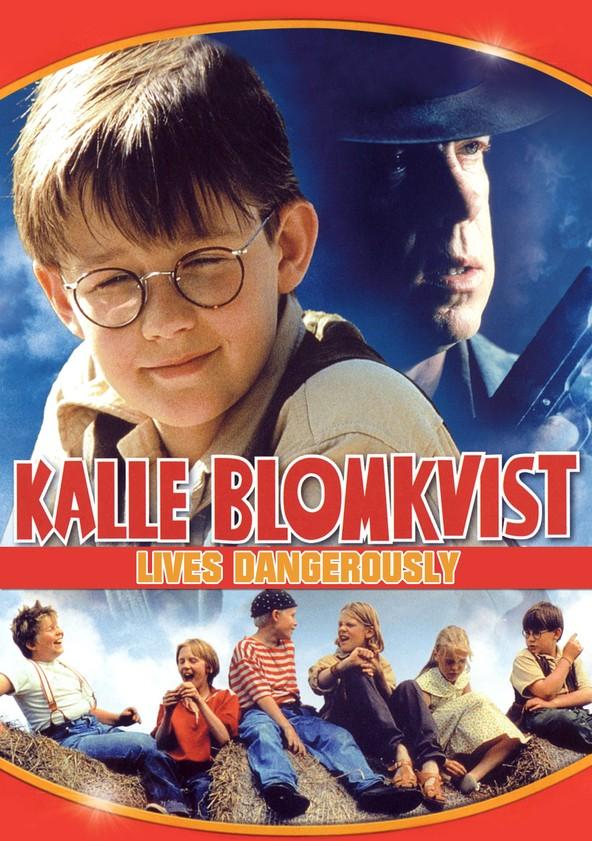 Kalle Blomkvist Lives Dangerously poster