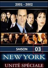 New York Unité Spéciale Saison 3