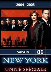 New York Unité Spéciale Saison 6