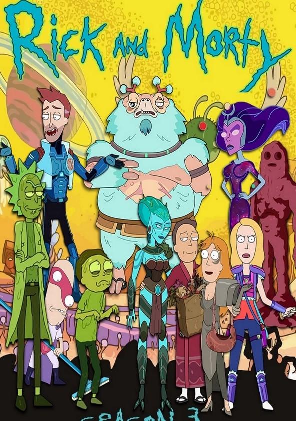 Rick and Morty Season 3 poster