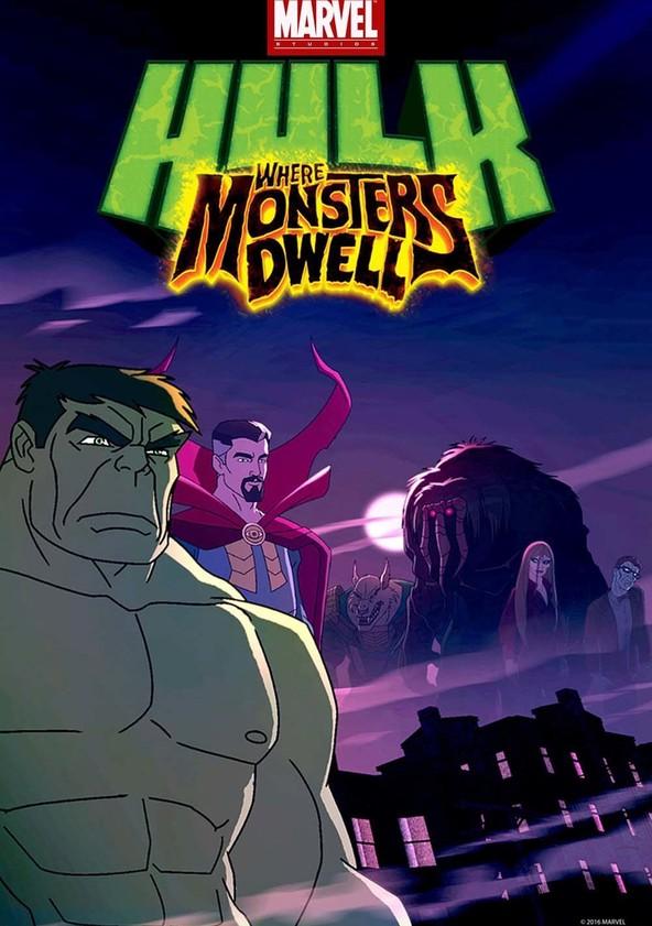 Hulk: Where Monsters Dwell poster