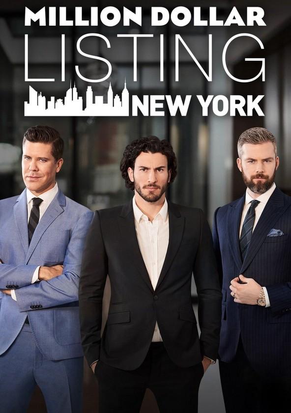 Million Dollar Listing New York poster