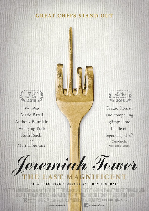 Jeremiah Tower: The Last Magnificent poster