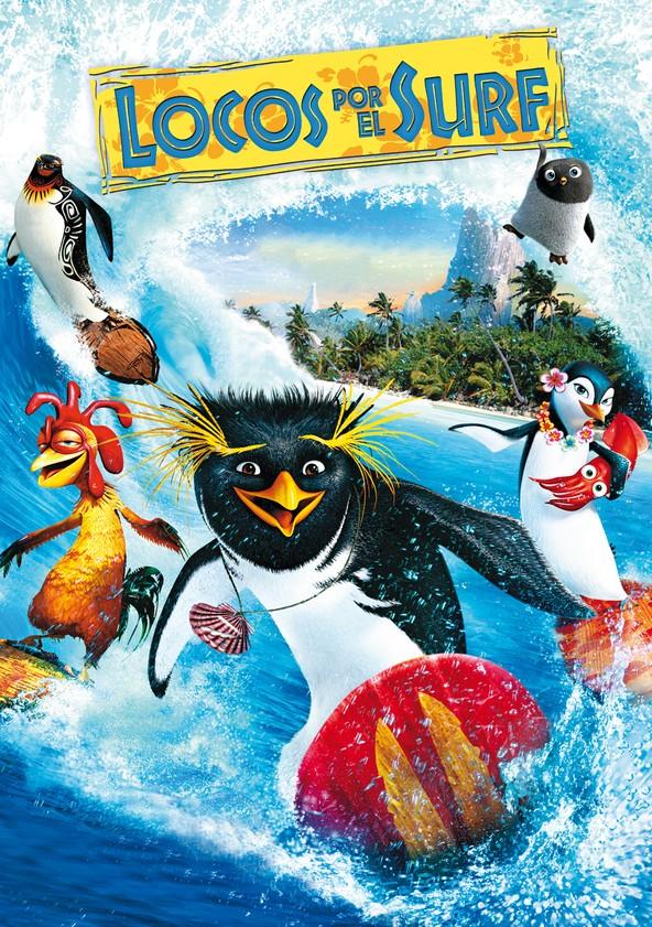 Locos por el surf poster