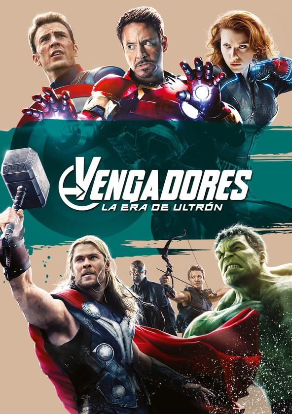 Vengadores: La era de Ultrón poster
